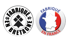 badge fabriqué en France